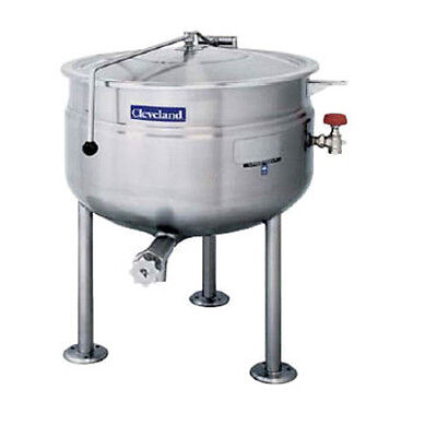 Cleveland KDL150F 150 Gallon Capacity Stationary Direct Steam Kettle