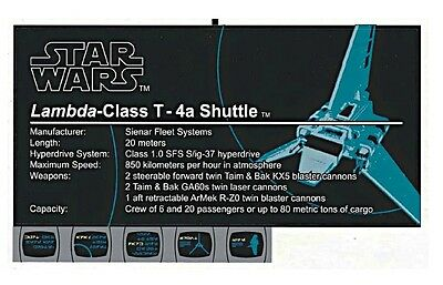 Replacement Sticker / Label Sheet Lego 10212 Ucs Imperial Shuttle