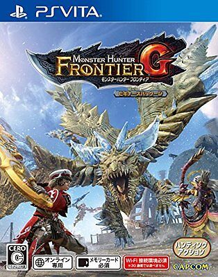 Monster Hunter Frontier G Beginner's Pack PSVita Japan Import PlayStation Vita