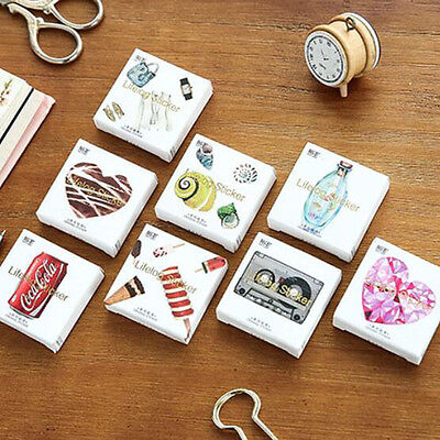 45 pcs/pack Decorative Stickers Adhesive Stickers DIY Decoration Diary Stickers