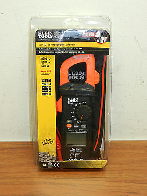 Klein Tools CL600 Digital Clamp Meter AC Auto-Ranging 600A TRUE RMS