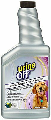 Urine Off Odour and Stain Remover Spray for Dogs and Puppies, 500ml