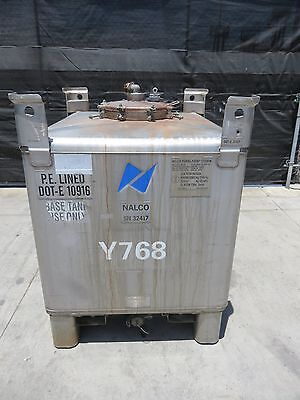 400 gallon stainless steel tote tank