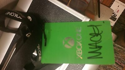 Macklemore Signed Xbox One Release Party Pass