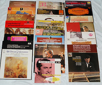 Updated 9/6/17 - £2 CLASSICAL LP RECORDS - ALL LISTED GRADED EMI/DECCA/DG etc