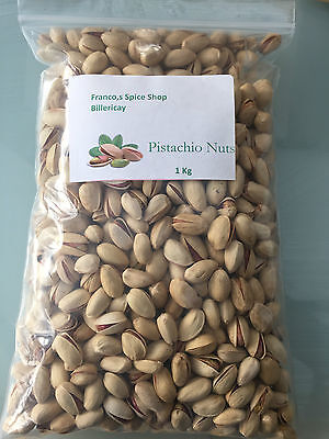 WHOLE PISTACHIO NUTS UNSALTED 500g/1KG/2KG FREE POSTAGE