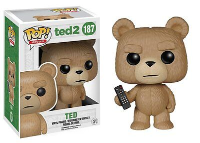 Ted 2 With Remote Pop Movies Vinyl Figure Funko New Vaulted