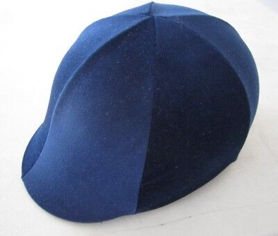 Horse Helmet Cover ALL AUSTRALIAN MADE All Royal Blue Any size you need