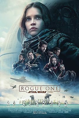 Rogue One: A Star Wars Story Theatrical Movie Poster (2016) 24x36