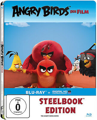 The Angry Birds Movie Blu-Ray limited Steelbook,Region Free