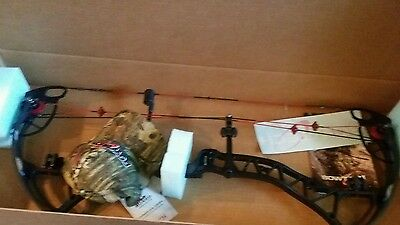 Bowtech Experience 60-70# Black Rh New In Box 2016