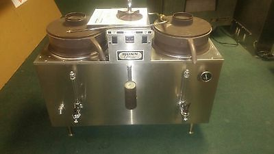 Bunn  Coffee Maker Urn U3 Commercial 3 Gallon Twin Automatic Stainless