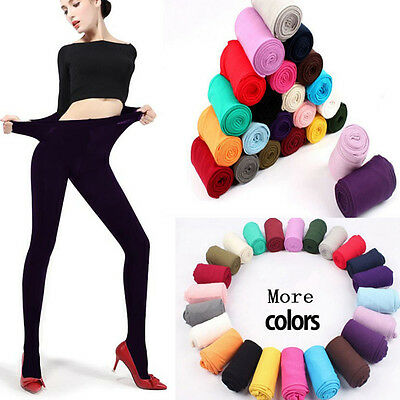 Lady Girls Soft Velvet 120D Thick Opaque Pantyhose Hosiery Tights Stockings