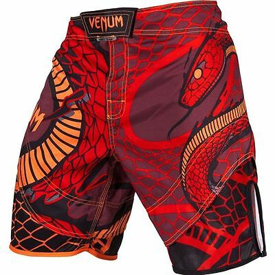 Venum Snaker Fight Shorts - Red