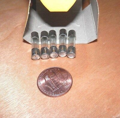 5 Qty. GMA 3.15A Fast-Blow Fuse 3.15 Amp 250v 5x20mm GMA3.15A, GMA3.15  ZME