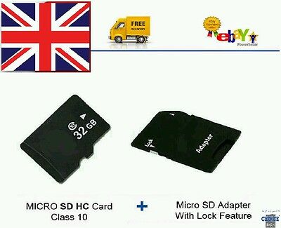 16GB Kingston Class 10 MICRO SDHC MEMORY CARD + FREE ADAPTER. FREE FAST POSTAGE