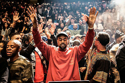 Kanye West The Life Of Pablo Silk Poster Rap HipHop Super Star 36x24inch New