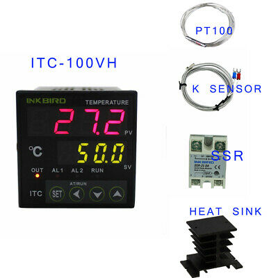 Inkbird PID Digital Temperature Controller ITC-100VH Thermostat heating Brewing