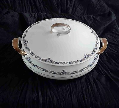 Alfred Meakin Tureen ~ Persian  Numbered 39 ~ Stamped ~ Aged & Beautiful