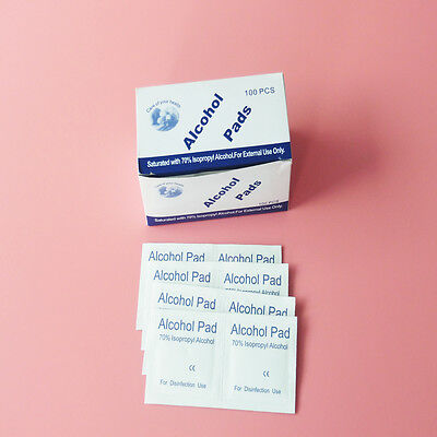 200 PCs/2Boxes First Aid Antibacterial Swab Antiseptic Disinfection Alcohol Pad