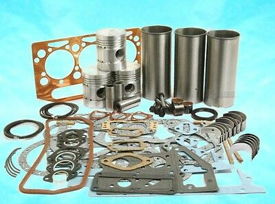 Massey Ferguson MF 35 Tractor Perkins 152 Engine Cast Liner Rebuild Kit