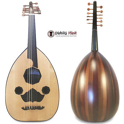 "El-Masry ""Egyptian Spirit"" Professional Egyptian Oud Lute+professional  Case"