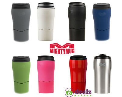 Dexam Mighty Mug Solo Travel Car Spill Proof Insulated Cup 320ml BPA Free