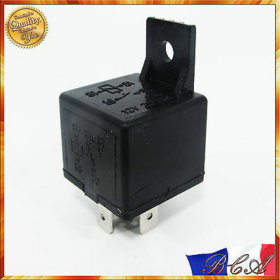 30A 12V DC 5 Broches Relais Relay Socket Automotive Véhicule Voiture Camion