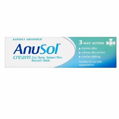 Anusol Cream Shrinks Piles| Relieves Discomfort | Soothes Itching 43g
