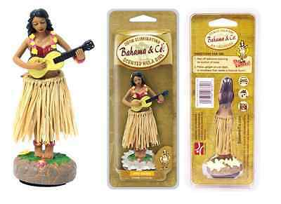 Car Dashboard Dancing Hawaiian Moving Hula Girl Pina Colada Air Freshener