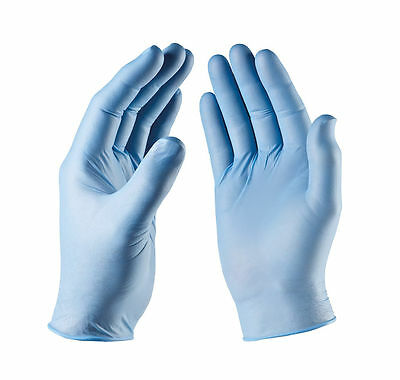 Disposable Latex, Vinyl or Nitrile Gloves - Powder Free - 1 Pcs - 100 Pcs NEW !