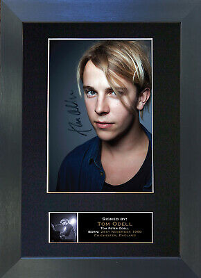 TOM ODELL Signed Mounted Autograph Photo Prints A4 355