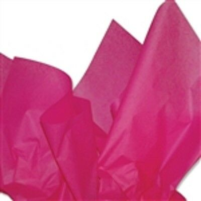 """Hot Pink Tissue Paper 24 Sheets  20""""x 30""""  Wedding Birthday Party Gift Wrap"""