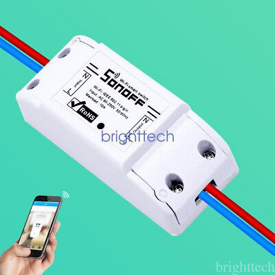 WiFi Wireless Smart Switch Relay Module for Smart Home Apple Android Smartphones