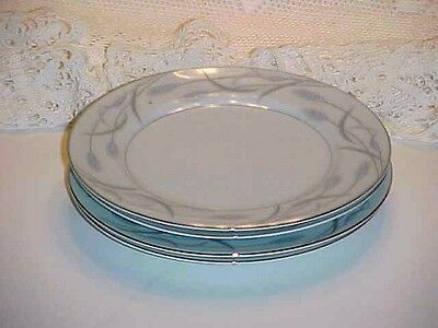 Valmont Fine China of Japan Royal Wheat Pattern Bread and Butter Plate Set