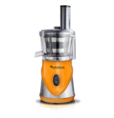 TurboTronic Top Quality Electric Slow Juicer - Juice Extractor YELLOW