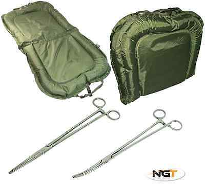 "Ngt Beanie Mat Carp Fishing 8"" Stainless Fishing Forceps"