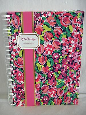 Lilly Pulitzer Mini Notebook, Wild Confetti Lined Sheets and Pocket Sleeve 160pg