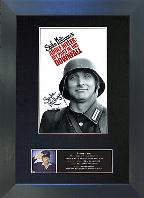 SPIKE MILLIGAN Signed Mounted Autograph Photo Prints A4 379