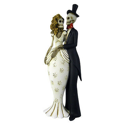 Wedding Gift Til Death Do Us Part Skelton Ornament | Nemesis Now | Unusual Large