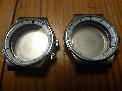 Orient Watch Case Lot.... 2 Crowns ...New Old Stock!!!