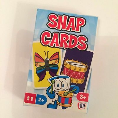 Snap Card Game - Traditional Games for Children - NEW - UK SELLER g100