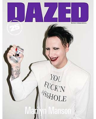 DAZED & CONFUSED Magazine Marilyn Manson  Kate Moss  25th Anniversary NEW