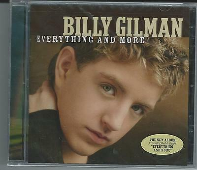 Everything and More by Billy Gilman -New CD,Factory Sealed w/Free Shipping!