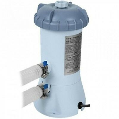 Intex Pool Pump and Filter 530 Gal/h for 6FT 8FT 10FT and 12FT Pools
