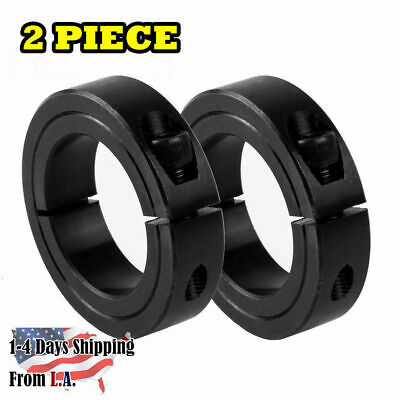 2-PIECES 1'' Bore Single Split (One-Piece) Clamping Shaft Collar