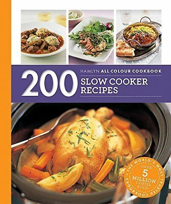 200 Slow Cooker Recipes: Hamlyn All Colour Cook by Sara Lewis New Paperback Book