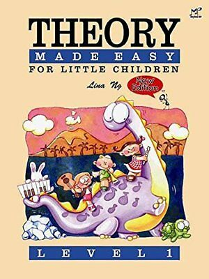 Theory Made Easy for Little Children Level 1 by Lina Ng New Sheet music Book