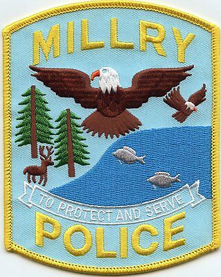 MILLRY ALABAMA AL To Protect And Serve POLICE PATCH