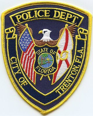 Trenton Florida Fl Police Patch